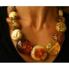 Halscollier, Halskette,  balt. Bernstein,  Necklace, Amber, NEU - UNIKAT