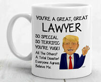 Lawyer Mug For Lawyer Gifts For Lawyer Coffee Mug Funny Lawyer Cup Best Trump