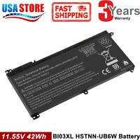 BI03XL 844203-855 For HP STREAM 14-AX BATTERY 11.55V 41.5Wh 3610mAh