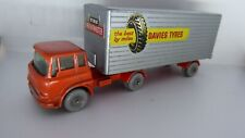 MATCHBOX LESNEY TRACTEUR BEDFORD / TRAILER / DAVIES TYRES THE BEST BY MILES N°2