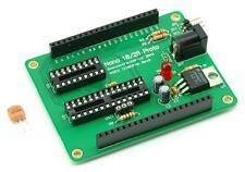 Nano 18 & 28 CPU progetto bordo scudo del sistema, B0112, BASIC STAMP, Arduino
