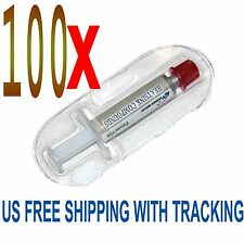 100 x STARS-700 SILVER Thermal Grease CPU GPU HeatSink Compound Paste Syringe
