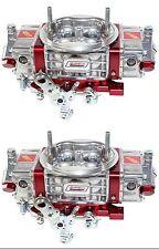 QUICK FUEL Q-750-B2 DRAW THRU 2X4 SUPER CHARGER CARBURETOR CUSTOM BUILT TWO (2)