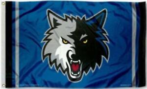 Timberwolves Flag 3X5 Minnesota Banner American Basketball Fast Shipping 3 x 5