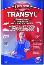 TRANSYL DEGRIPPANT LUBRIFIANT DEGRAISSANT TRANSYL BIDON 1L