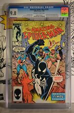 Amazing Spider-Man #270 CGC 9.8 Firelord App N. Adams Avengers #96 Cover Homage