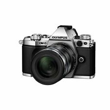Near Mint! Olympus E-M5 Mark II Silver w/ ED 12-50mm EZ Black - 1 year warranty