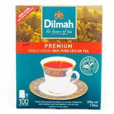 Dilmah premium single origin 100% pure Ceylon tea - 100 Bags