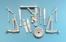 Su-25 Frogfoot Landing Gear 1/48th  Scale for Kopro and Eduard Models SAC 48199
