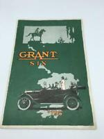 Grant Six Fold-out Car brochure poster 1916 early automobile