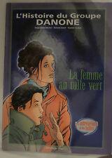 L'histoire du groupe Danone la femme au tulle vert