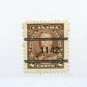 #1-218 ROCK ISLAND, #1142 Cat $40.00+ PRECANCEL, Canada used