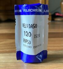 Fujichrome Velvia 50 Fuji 120 Medium Format Slide Film *recently expired*