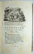 PARNASO ITALIANO - figur. 1786 -TASSO - AMINTA - Zatta