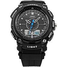 OHSEN Sport Digital AL School Watch For Men Child Boy Girl Wrist Watches Black