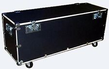 """Stands & Utility Trunk Road Case 1/2"""" PLY CASE KIT w/Bare Wood Edges Small Size"""