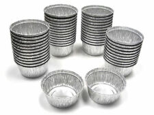 250 Pcs 4 oz Disposable Aluminum Foil Muffin Baking Cup / Cupcake HFA