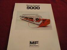 Massey Ferguson 9000 Pickup Reel Dealer's Brochure 901-183-25-1