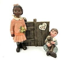 Sarah's Attic Limited Edition Retired Figure Love Starts With Children #1237
