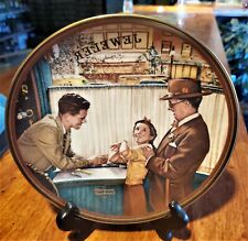 A Time to Keep Norman Rockwell Vintage Collector Plate 1989  Knowles Fine China
