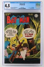 Batman #30 - CGC 4.5 VG+ DC 1945 - 1st App Ally Babble - Penguin Story!
