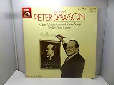 THE ART OF PETER DAWSON RLS1077053 HMV TREASURE  LP VINYLS