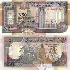 Somaliland 50 Shillings Crisp UNC Banknote