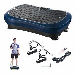 Vibration Plate Platform Crazy Fitness Machine Massage Exercise Home Gym