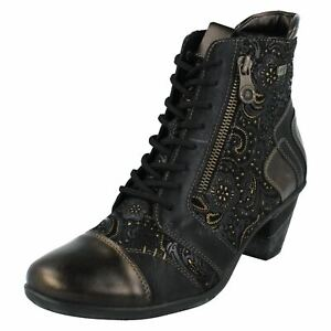 Remonte Ladies Ankle Boots With Remonte Tex - D8794