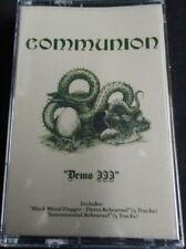 COMMUNION - Demo III + Black Metal Dagger Demo + Instrumental Reh. Tape