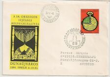 COVER BUDAPEST HUNGARY HONGRIE MAGYAR POSTA TO SWEDEN. L749