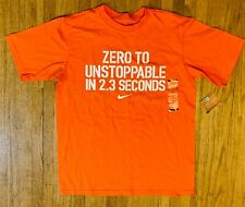 NWT Nike Youth Large T Shirt Short Sleeves Zero to Unstoppable in 2.3 Seconds