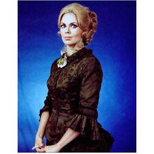 Dark Shadows Lara Parker as Angelique with Blue Background 8 x 10 Inch Photo
