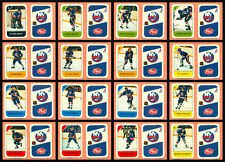 1982-83 Post Cereal New York Islanders Mike Bossy NHL Hockey Mini Card Set of 16