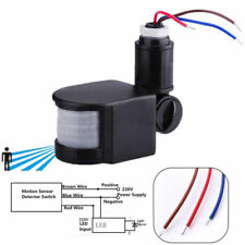 110-220V PIR Infrared Automatic Motion Sensor Detector Wall Lamp Switch Light