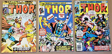 THOR #246, 247, 249 (Marvel 1982) High Grades