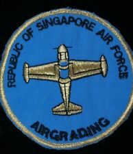 Vintage Republic Of Singapore Air Force Air Grading Patch