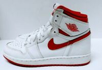 Nike Air Jordan 1 Retro High OG BG White Varsity Red 575441-103 Size 6.5Y