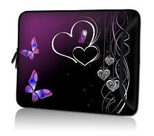 Laptop Tasche 15,4 Zoll Notebook Schutzhülle Neopren verschließbares Zusatzfach
