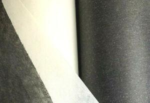 SEW IN Interfacing Lightweight Mediumweight Heavyweight 68cm wide Black WHITE