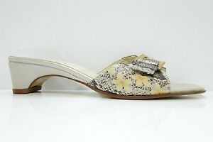 ESINO WOMENS LEATHER SANDALS - PERFECT - BEIGE - UK 7