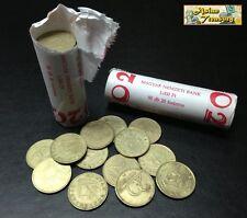 HUNGARY ROLL OF 50 x 20 FORINT COIN 1993 - 1995 IN MAGYAR NEMZETI BANK ROLL