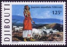 Tripartitas yibuti 1999 Telecommunication Day, mnh, SC 794, mié 674, CV € 60+