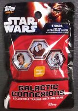Topps Star Wars Galactic Connexions Collectible Trading Discs And Game Pack