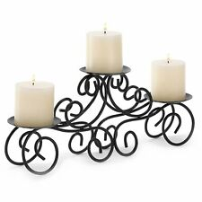 HOME LIGHTING DECOR TUSCAN-STYLE CANDLE HOLDER CENTERPIECE