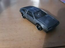 ☀�Hot Wheels☀�Dmc DeLorean☀�1:64 Grey☀�*Nice*Vvhtf*☀ �