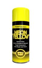 PAINT FACTORY - NEON YELLOW SPRAY PAINT - 400ML