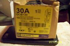 Square D Qob130 30A 1-Pole 120/240V Bolt-On Circuit Breaker