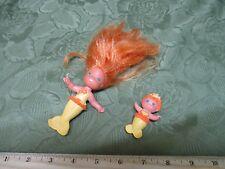 Vintage Kenner Cpg Sea Wees Bubble Ballet 1984 Ruffle Baby Curtsy Mermaid Set