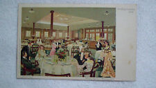 Vintage Postcard Hamburg Amerika Linie Ritz's Carlton Restaurant Circa 1920